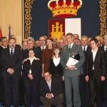 Cospedal otorga la medalla al mérito profesional al superintendente jefe del Cuerpo de Policía Local de Ciudad Real, Fernando Díaz Rolando