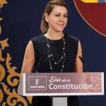 Cospedal subraya que las aspiraciones soberanistas no entran dentro del marco constitucional