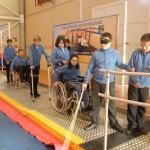 Cocemfe Ciudad Real ha inaugurado hoy su Circuito de Accesibilidad, con motivo del Día Internacional de las Personas con Discapacidad