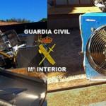 La Guardia Civil detiene a una persona por robo en explotación agrícola