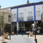 Mercadillo de Comerciantes de Herencia el  Día de la Constitución en la Plaza de España