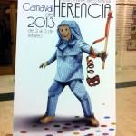 """El cartel """"Perleflexia"""", de Juan Diego Ingelmo, anunciará el Carnaval de Herencia"""