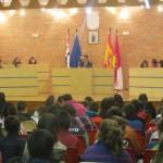 Los niños de los colegios de Malagón visitaron el Ayuntamiento