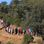 Una ruta senderista reivindica el Camino de Andalucía entre El Hoyo (Mestanza, Ciudad Real) y El Centenillo (Baños de la Encina, Jaén)