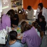 Grullas de papel en el Mancha Centro para celebrar el Día Mundial de la Paz