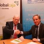 GlobalCaja y CECAM firman un convenio para facilitar la financiación a emprendedores