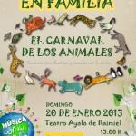 ScalaM estrena en Daimiel 'El Carnaval de los Animales'