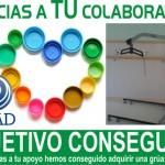 Valdepeñas: AFAD consigue una grúa móvil gracias a la recogida de tapones de plástico