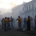 Las Paces de Villarta vivieron una vez más el intenso olor  a fuego y pólvora en honor a la Virgen de la Paz