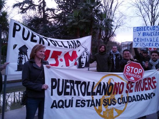 Desde Puertollano también llega gente el #16F