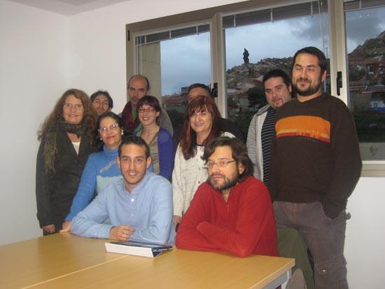 Algunos de los miembros de la Plataforma Ciudadana por el Futuro de Puertollano