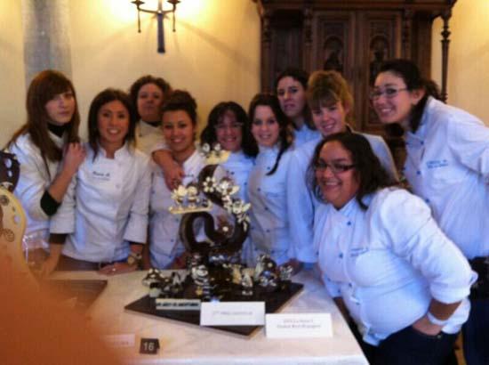 Alumnas hostelería chocolate