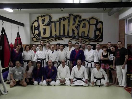 Alumnos Bunkai