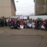 Padres, alumnos y profesores protestan en Cabezarrubias del Puerto por la posible supresión de la ESO en el centro de la localidad