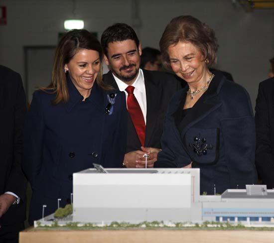 Cospedal inaugura la ampliación de instalaciones del Grupo Cofares