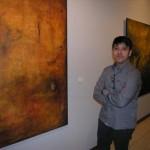 Villanueva de los Infantes: El artista Javier Tercero expone una muestra de su obra en el IES Ramón Giraldo