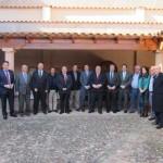 Tirado visita la DO La Mancha alabando el potencial del sector vitivinícola