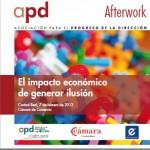 Cámara de Comercio y APD organizan una jornada sobre el impacto económico de «generar ilusión»