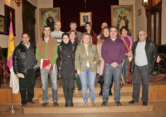 Integrantes del nuevo Consejo Escolar Municipal de Almodóvar del Campo
