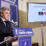 Leandro Esteban agradece a los profesionales del 112 la labor «eficaz» que prestan a la sociedad