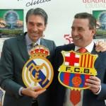 """El Real Madrid CF y el FC Barcelona juegan hoy el """"clásico"""" de la Liga Fertiberia en Ciudad Real"""