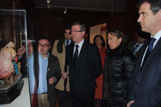 Marcial Marín en el Palacio del Infantado