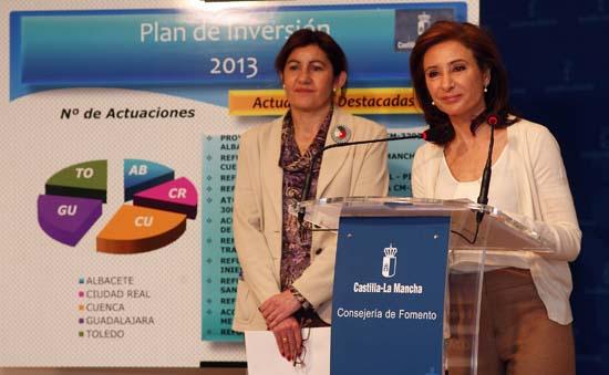 Marta García presenta el Plan de Inversión en Carreteras