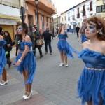 El frío no impidió a los pedroteños disfrutar del gran desfile del Carnaval