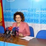 """Riolobos (PP): """"Con la reducción de seis puntos del déficit, Cospedal ha salvado la Sanidad, la Educación y los Servicios Sociales"""""""