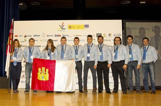 Seis alumnos representarán a Castilla-La Mancha en las Olimpiadas FP