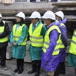 Romero visita las obras de depuración de aguas en Ciudad Real