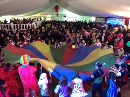 Cientos de personas participan en el Carnaval de Bolaños de Calatrava