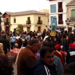 Calzada de Calatrava: El manteo de peleles del Jueves Lardero marca el inicio del Carnaval