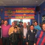 La Peña Barcelonista de Calzada estrena nueva sede con mucha ilusión por la buena marcha de su equipo