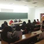 El Frente Cívico de Puertollano organizó una charla jurídica dirigida a los miembros de la Plataforma de Afectados por la Hipoteca
