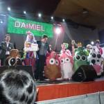 Multitudinaria presencia del Máscaras Guarronas en Daimiel