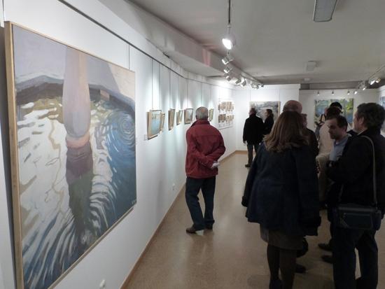 Los paisajes de Fernando García Medina llegan a la Casa de Cultura