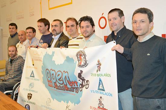 La Diputación patrocina el III Open de Mountain Bike (BTT) de Ciudad Real