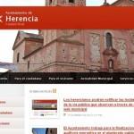 Los herencianos podrán notificar las incidencias en la vía pública a través de la web municipal
