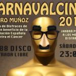 Este sábado se celebra CarnavalCine en Pedro Muñoz