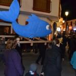 El sepelio por Doña Sardina de Arenque del Záncara acabó con el Carnaval de Pedro Muñoz