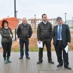 El alcalde de Tomelloso visita el P-12, cuyas obras de urbanización ya han finalizado