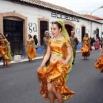 El Bollywood de Fuente El Fresno y los cuentos de San Carlos del Valle se imponen en el concurso de carrozas de Torralba de Calatrava
