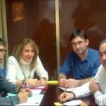 UPyD e IU se reúnen para hablar de la reforma de la Ley Electoral de Castilla-La Mancha