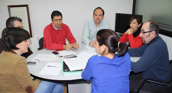 Reunión PSOE-CCOO