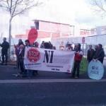 PAH Ciudad Real y plataformas de la provincia convierten en «trending topic» su protesta a favor de la ILP contra los desahucios