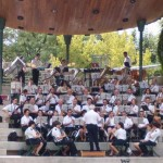 Escucha tres fragmentos más de «La del manojo de rosas», interpretada por la Banda Municipal de Puertollano