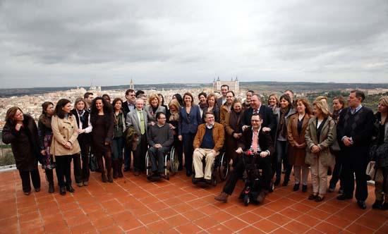Cospedal preside la reunión de la Comisión de Bienestar Social y Capacidades Diferentes del PP de Castilla-La Mancha