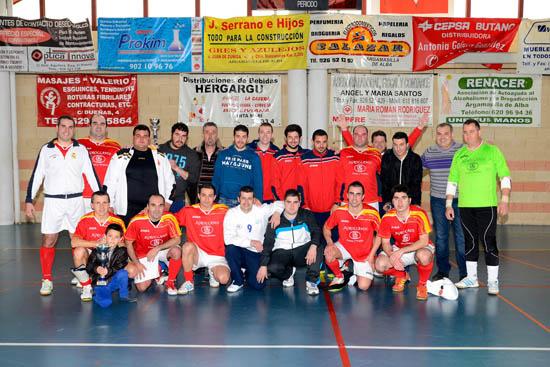 Dos equipos_Futbol Sala_Segundo_AdeAlba