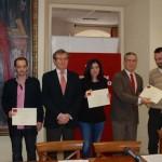 El trabajo 'eCoop', galardonado con el Premio Proyecto Emprendedor de la Universidad regional